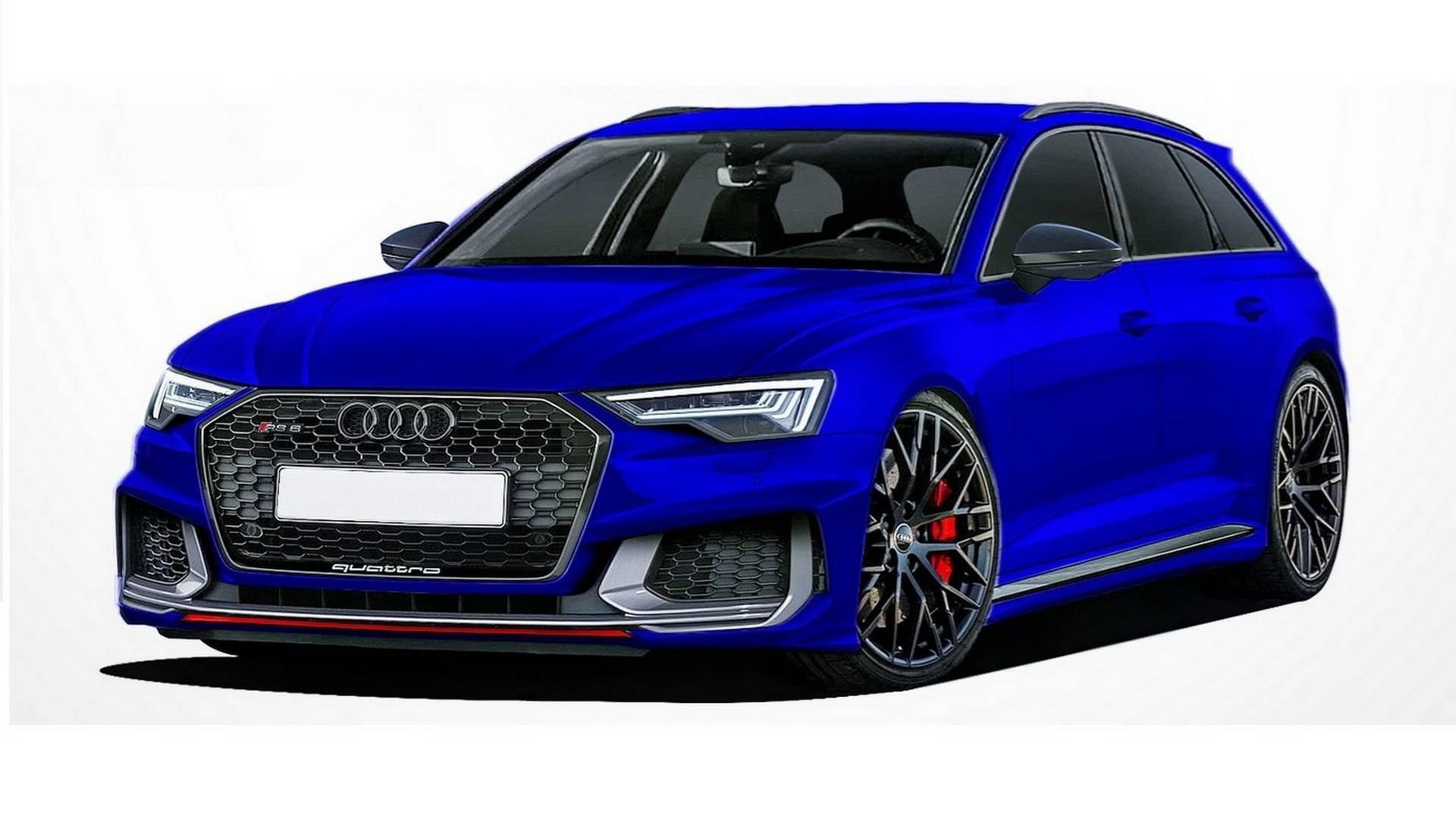 Audi A6 Avant, A6 Allroad RS6 Avant Renderings (5)