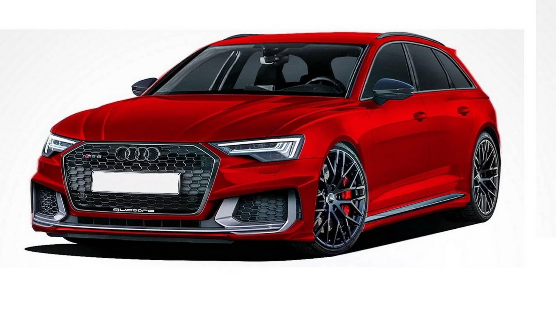 Audi A6 Avant, A6 Allroad RS6 Avant Renderings (6)