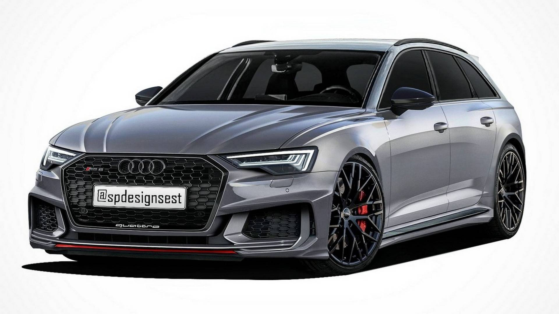 audi a6 avant a6 allroad rs6 avant renderings. Black Bedroom Furniture Sets. Home Design Ideas