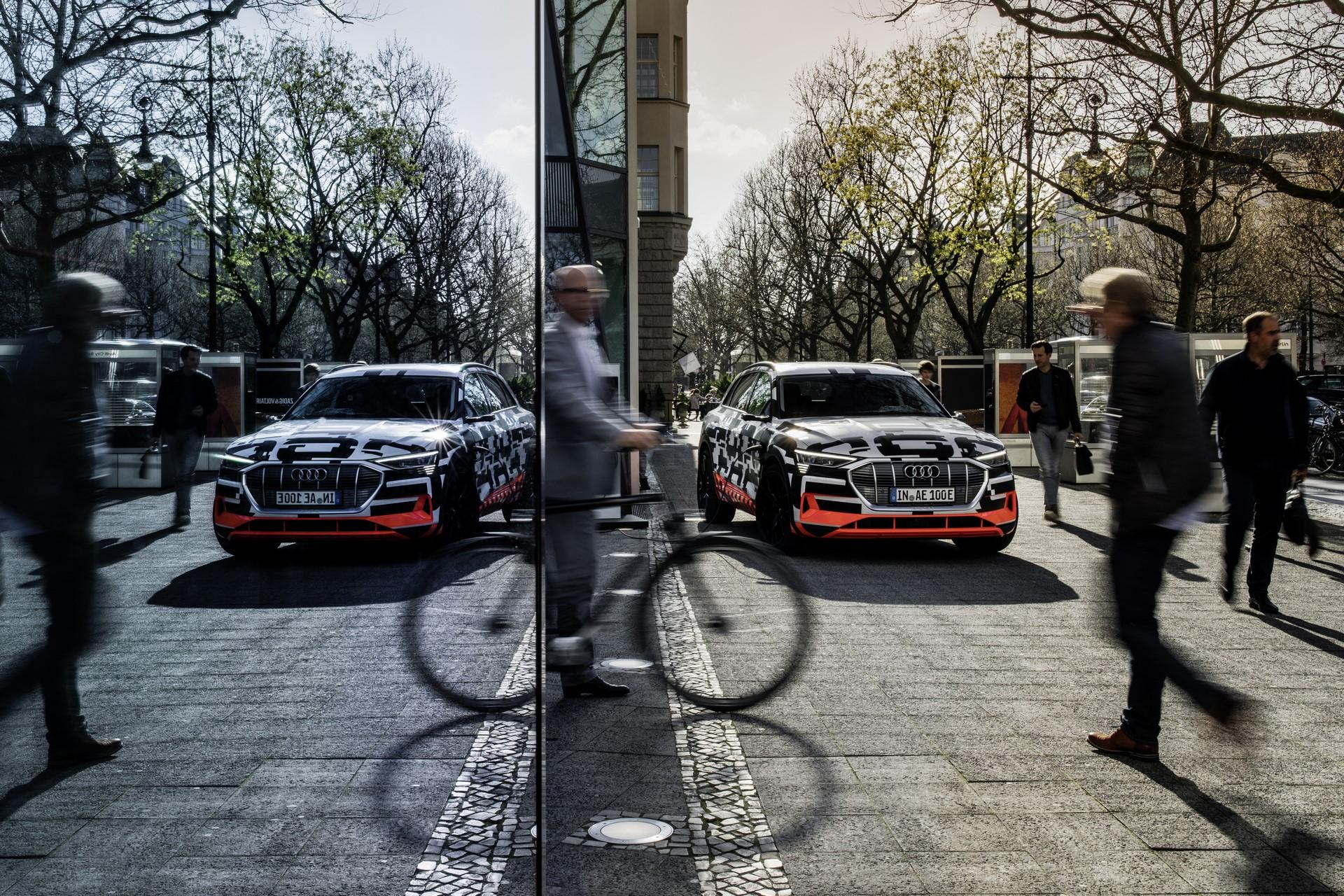Audi e-tron prototype: Audi City Berlin