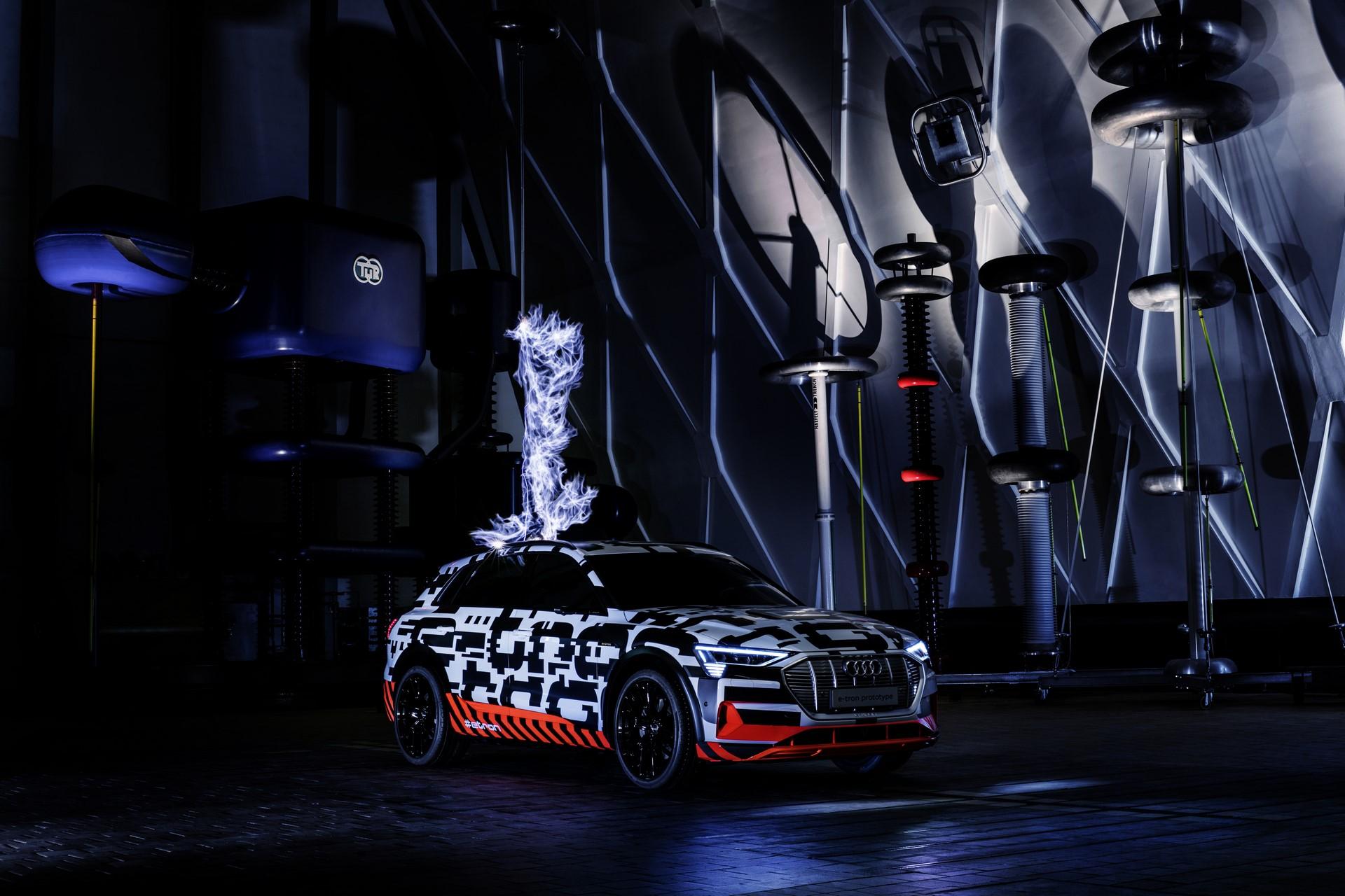 Audi e-tron extreme: High-Voltage at Siemens Schaltwerk Berlin