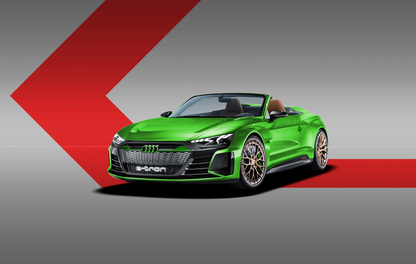 Audi E-Tron GT Spyder, E-Tron GT Wagon, E-Tron GT Coupe Renderings (5)