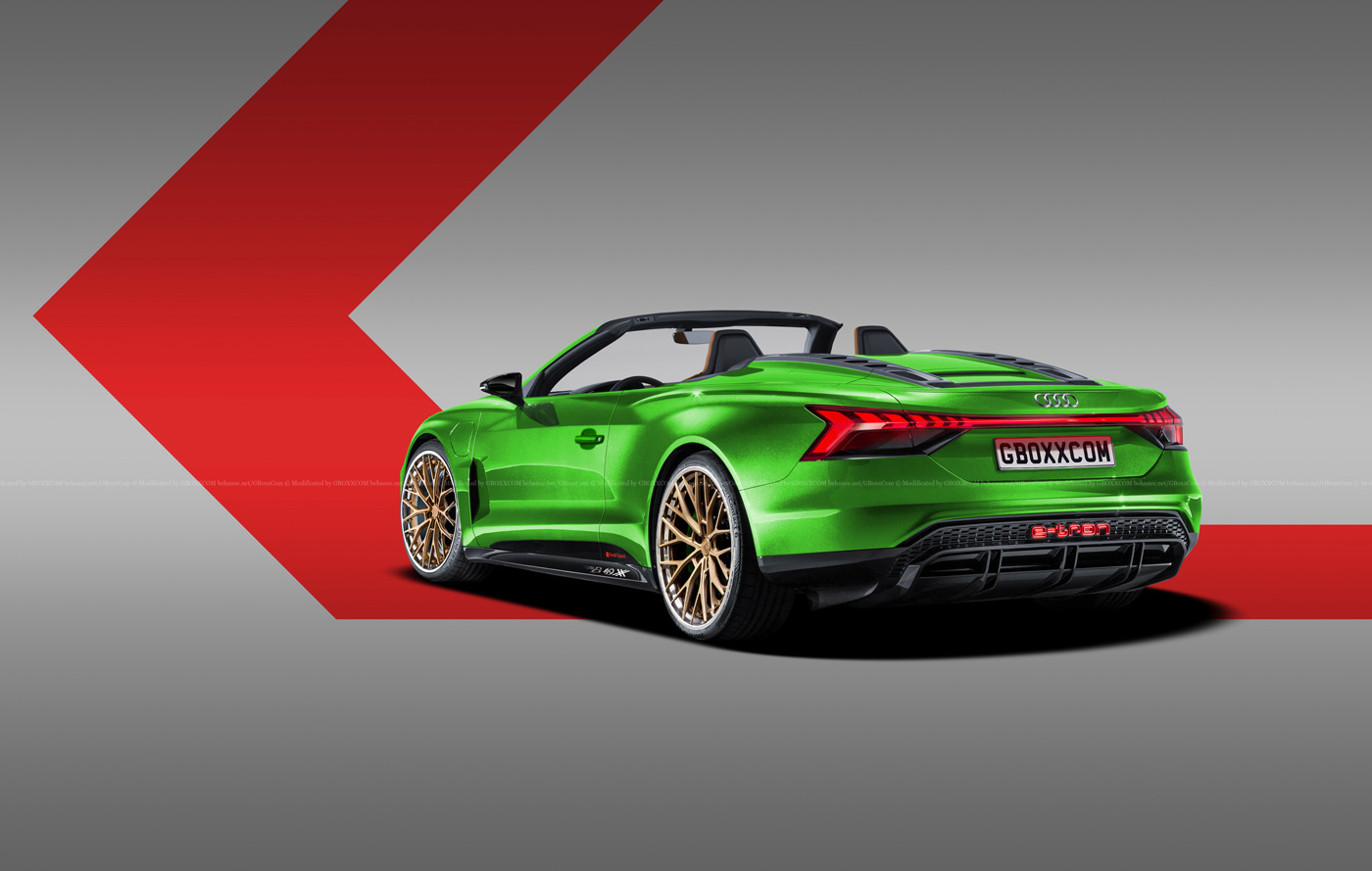 Audi E-Tron GT Spyder, E-Tron GT Wagon, E-Tron GT Coupe Renderings (6)