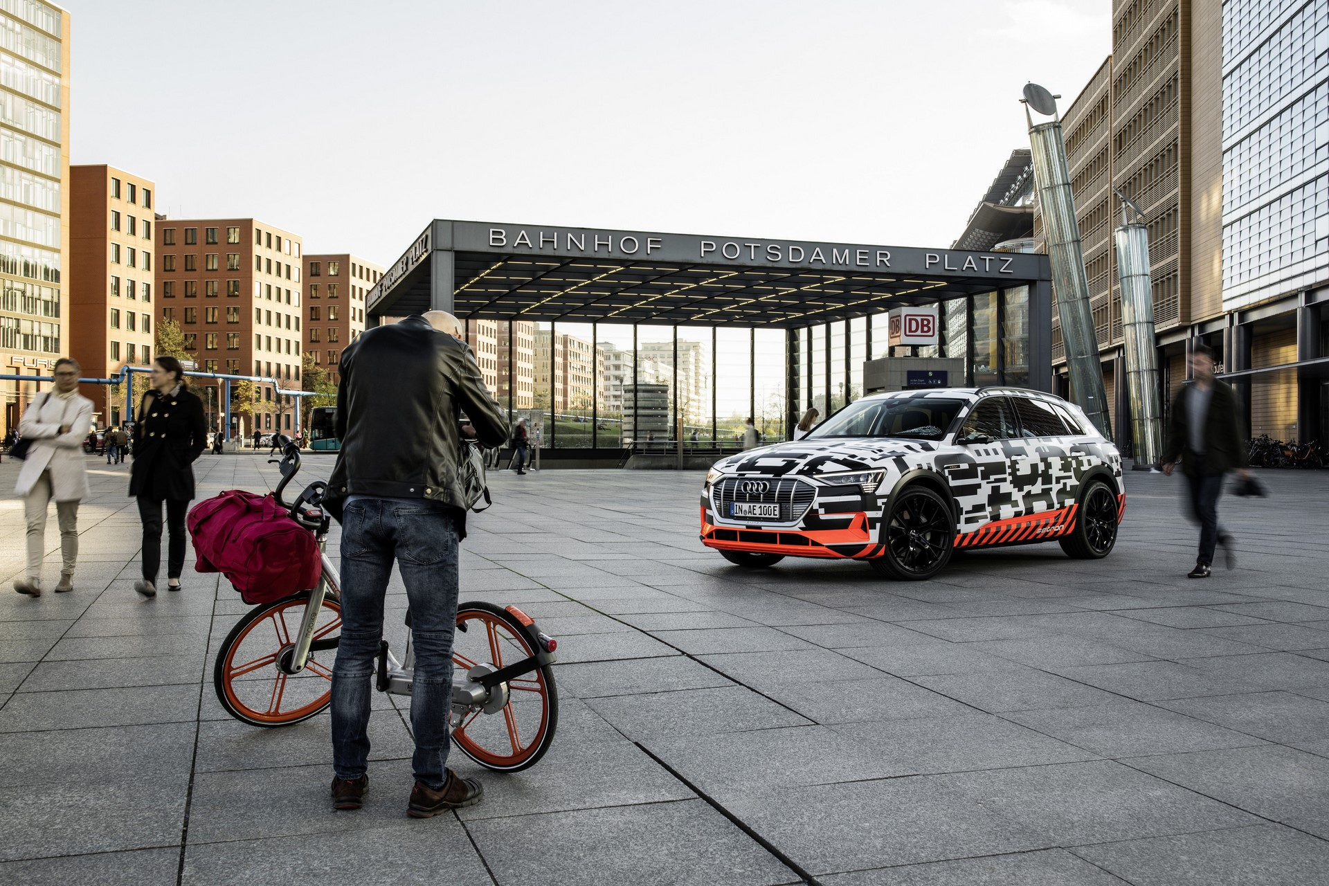 The Audi e-tron Prototype in Berlin