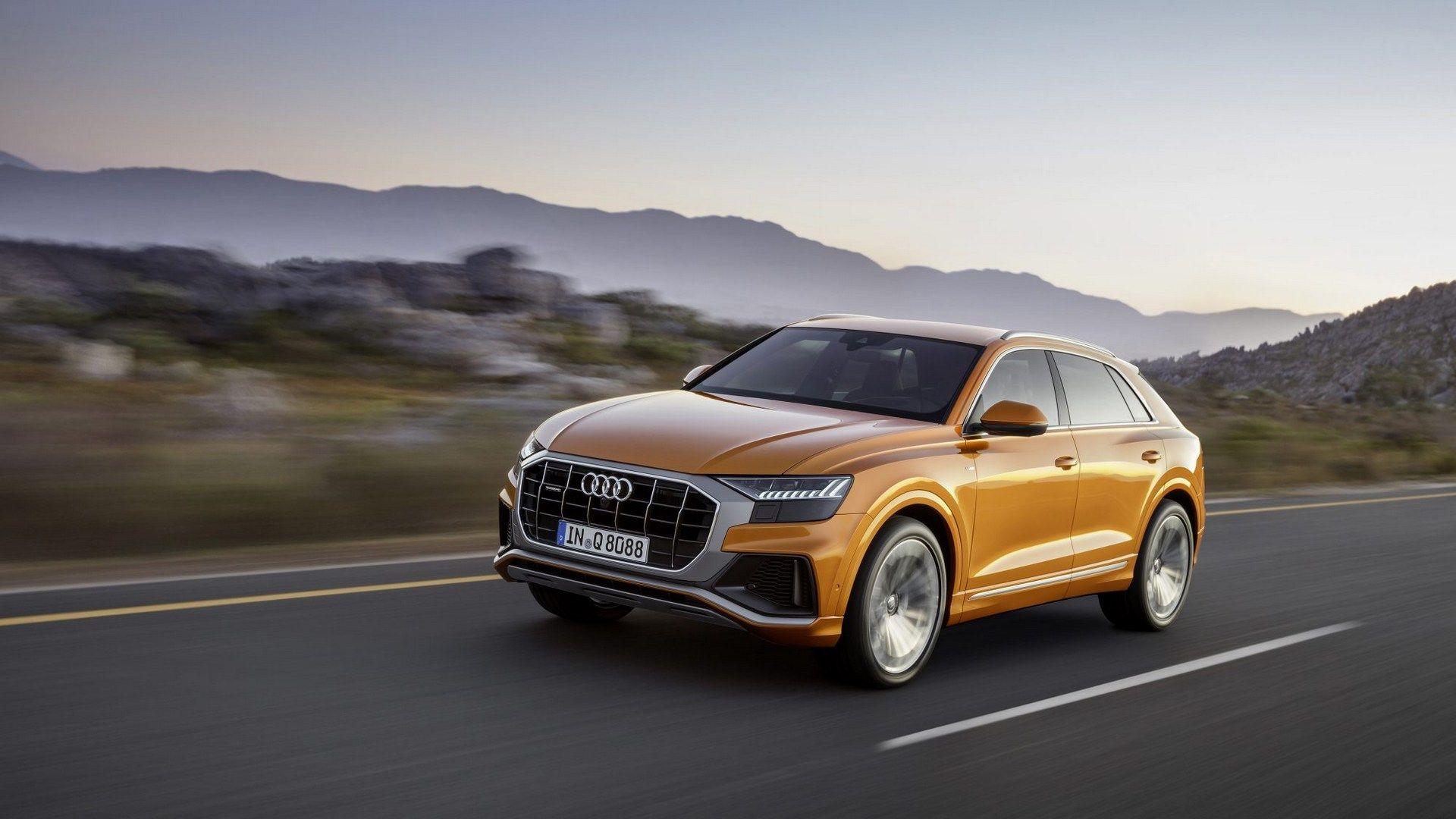 Audi Q8 2018 First Photos (2)