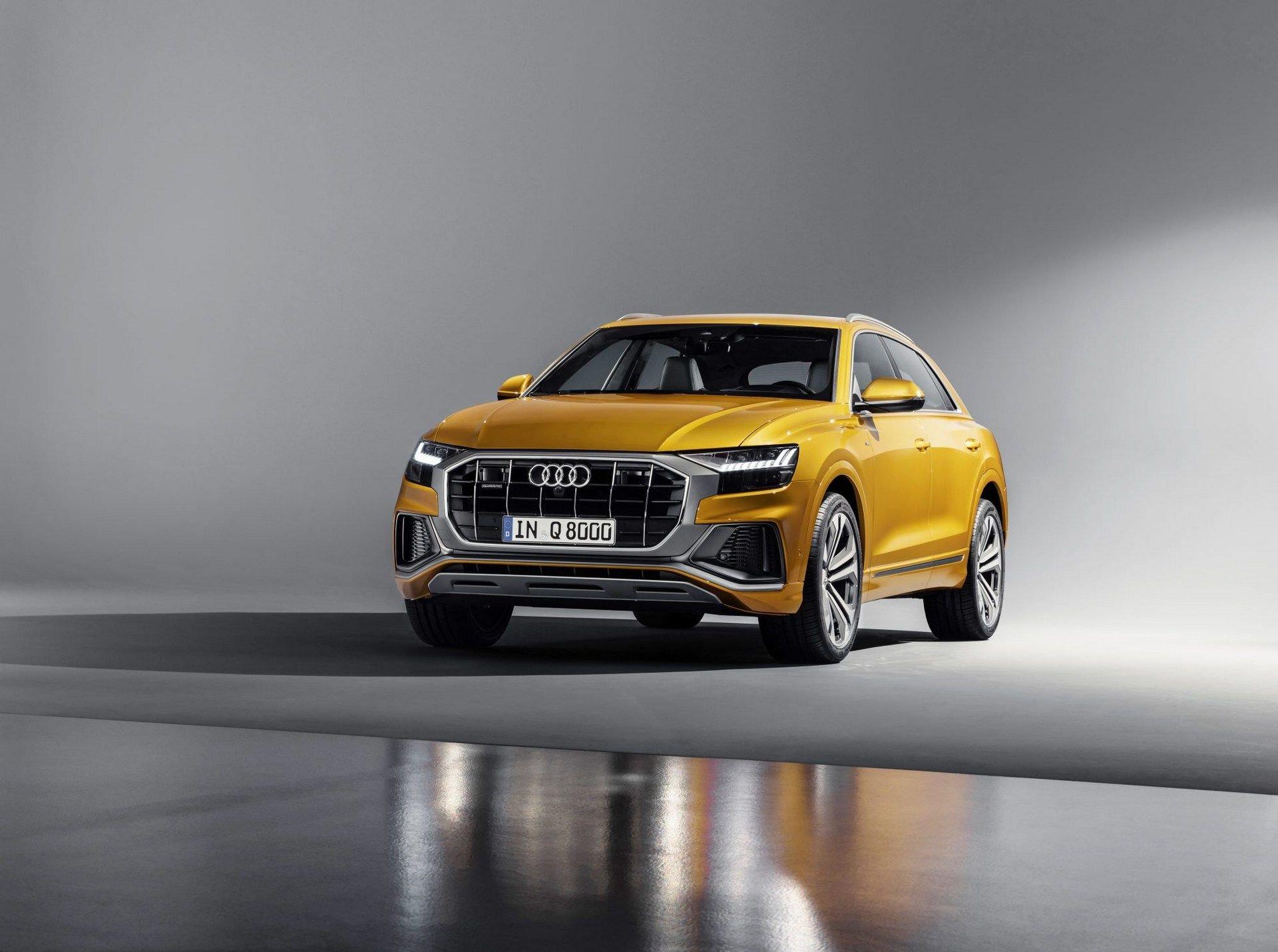 Audi Q8 2018 First Photos (8)