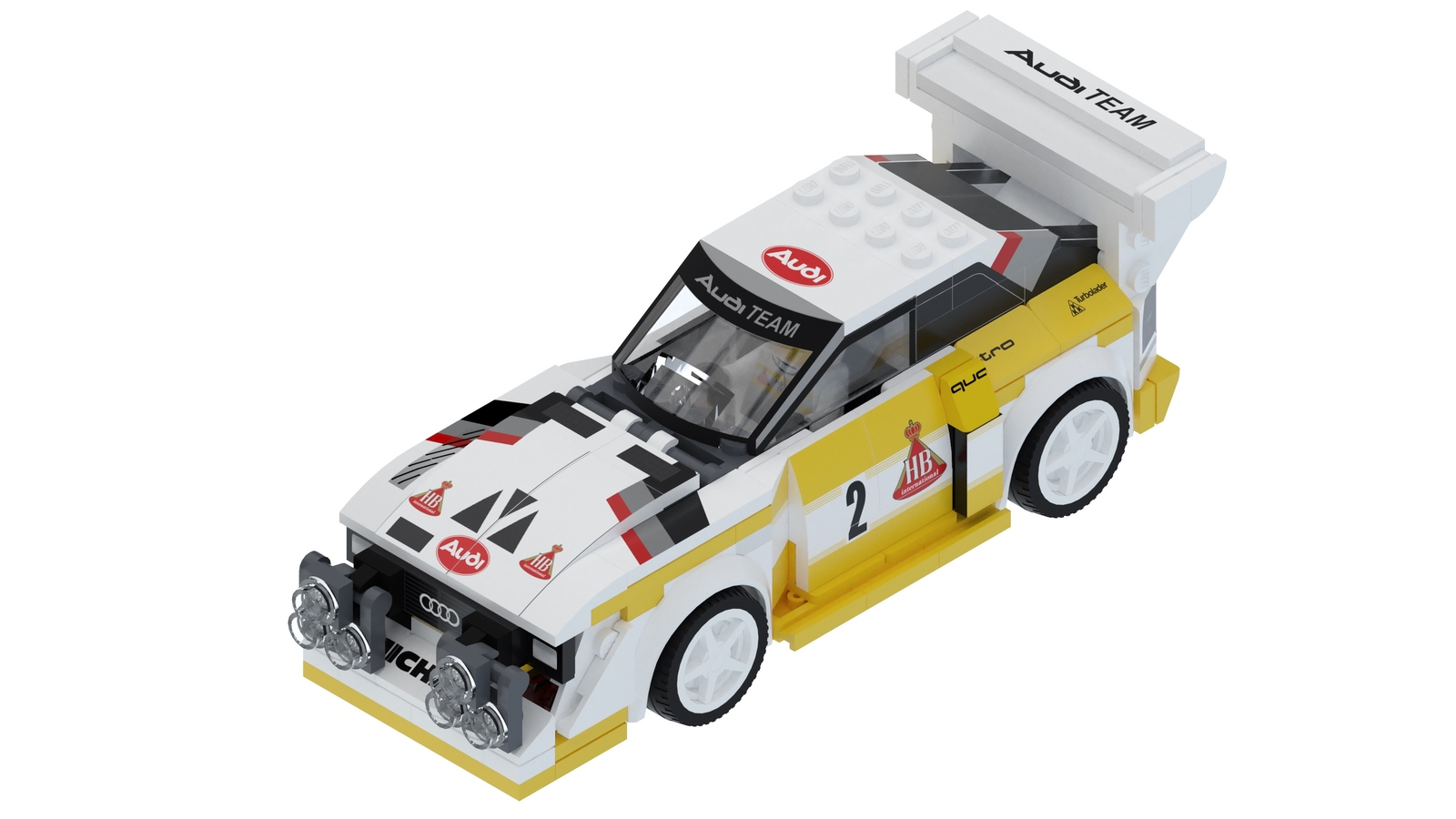 Audi Quattro S1 E2 Group B by Lego (1)