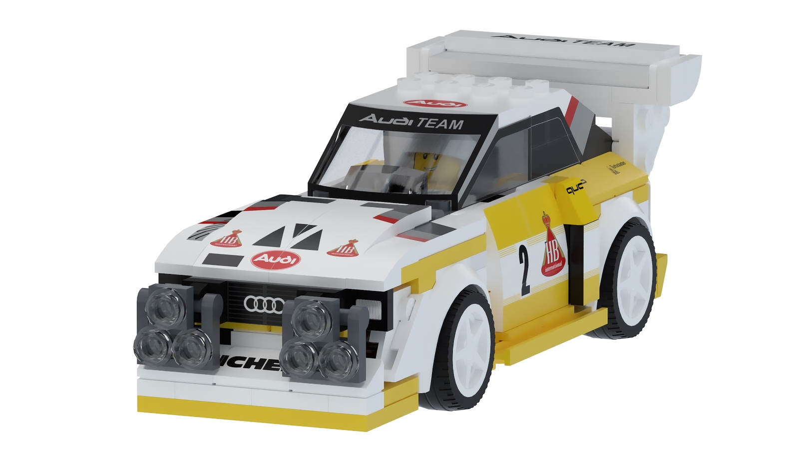 Audi Quattro S1 E2 Group B by Lego (10)