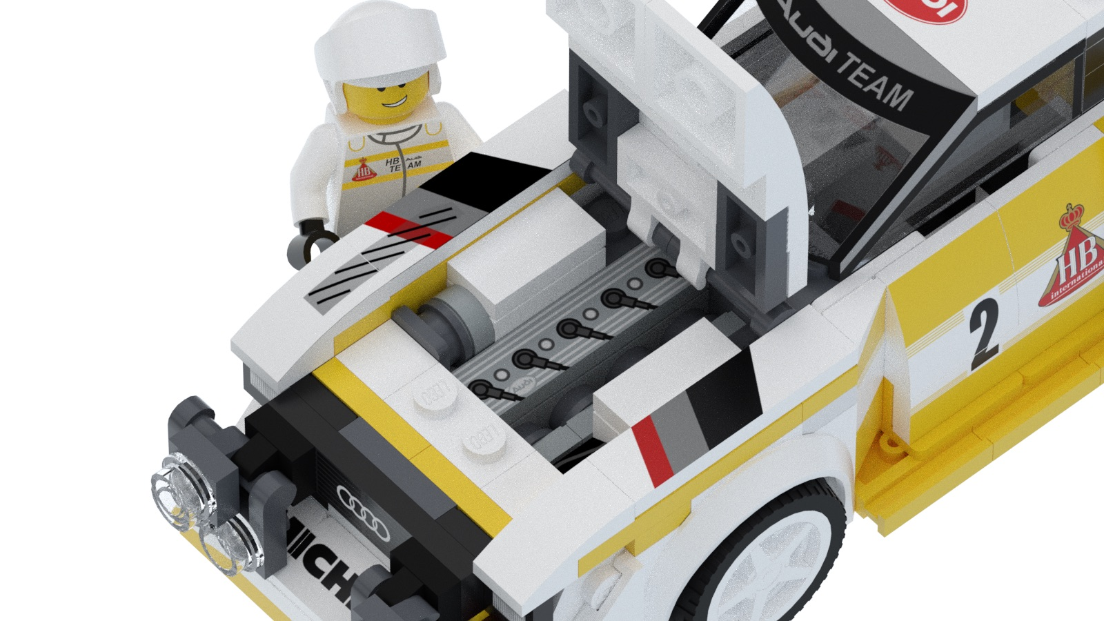Audi Quattro S1 E2 Group B by Lego (11)