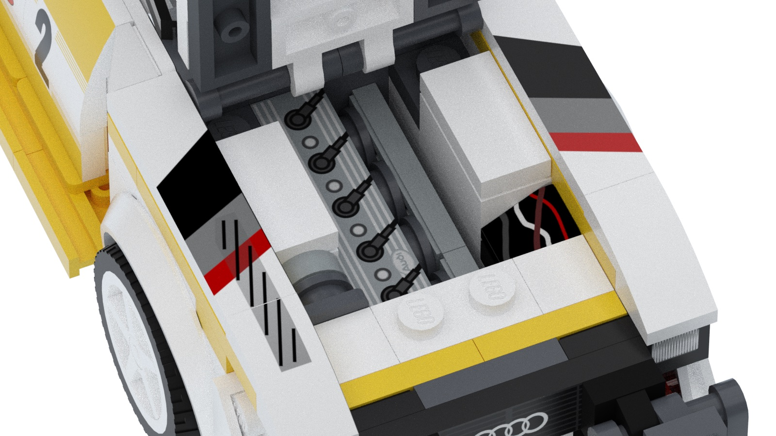 Audi Quattro S1 E2 Group B by Lego (12)