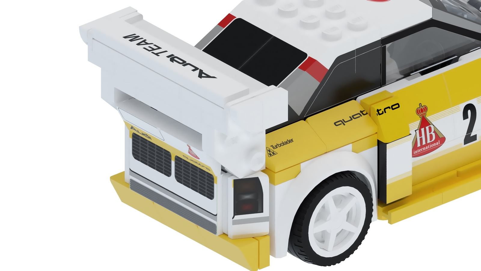Audi Quattro S1 E2 Group B by Lego (14)