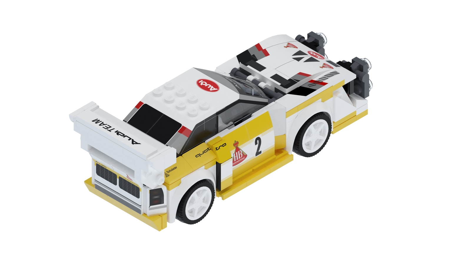 Audi Quattro S1 E2 Group B by Lego (3)