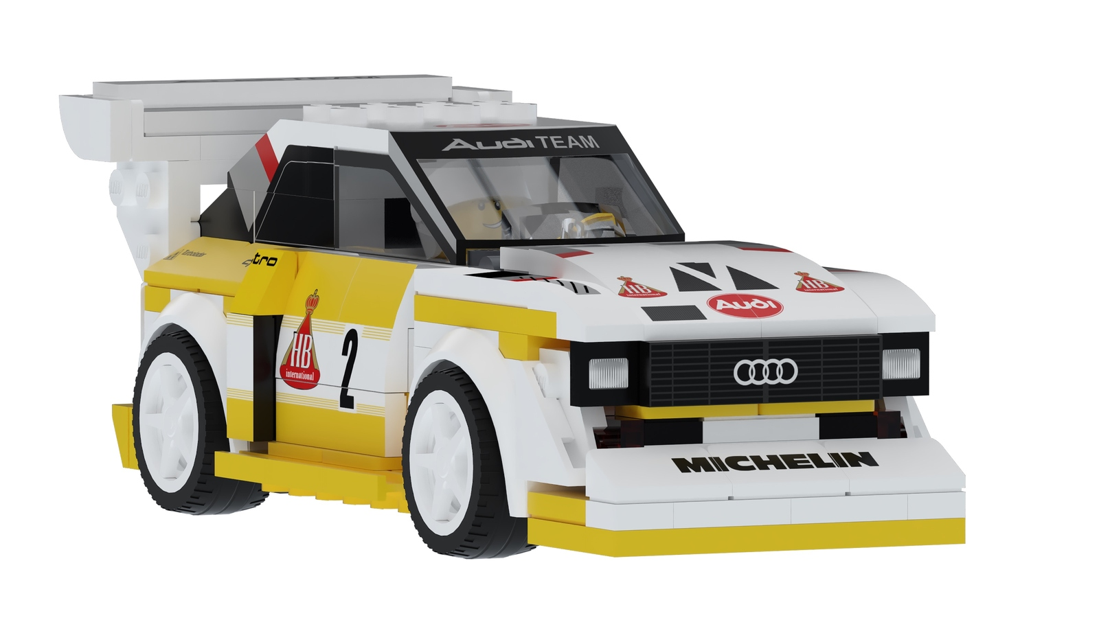 Audi Quattro S1 E2 Group B by Lego (8)