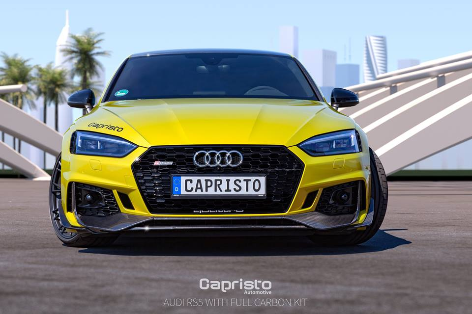 Audi RS5 Coupe Carbon Fiber bodykit by Capristo (1)