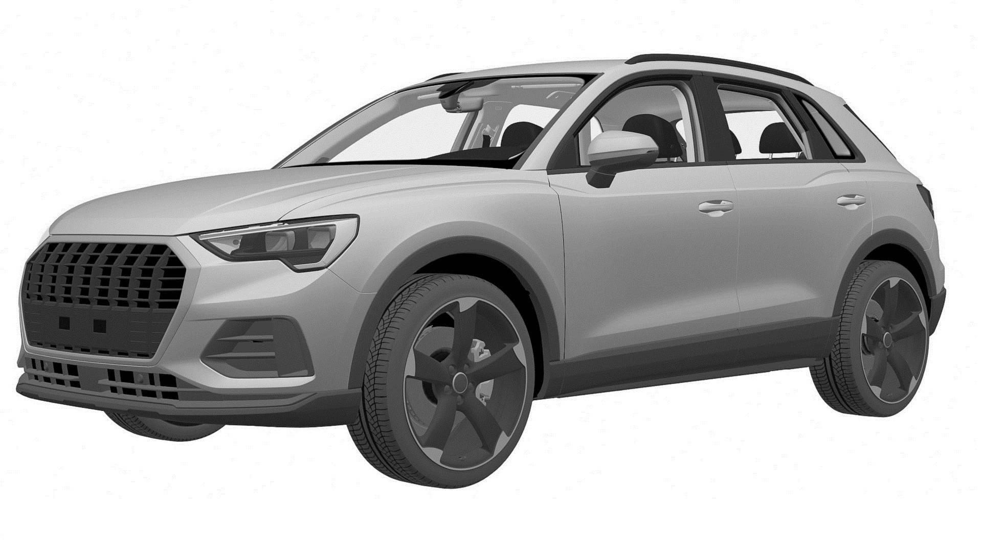 Audi SQ3 patent images 2