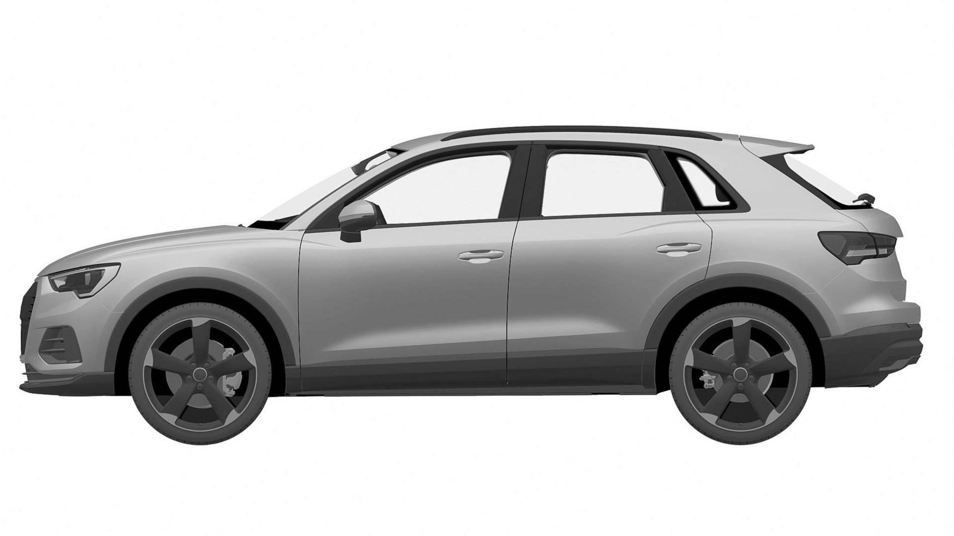 Audi SQ3 patent images 3