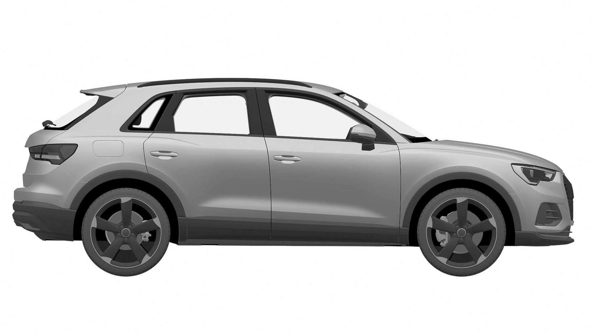 Audi SQ3 patent images 5
