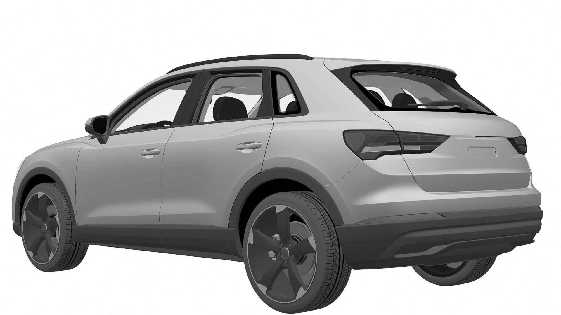 Audi SQ3 patent images 6