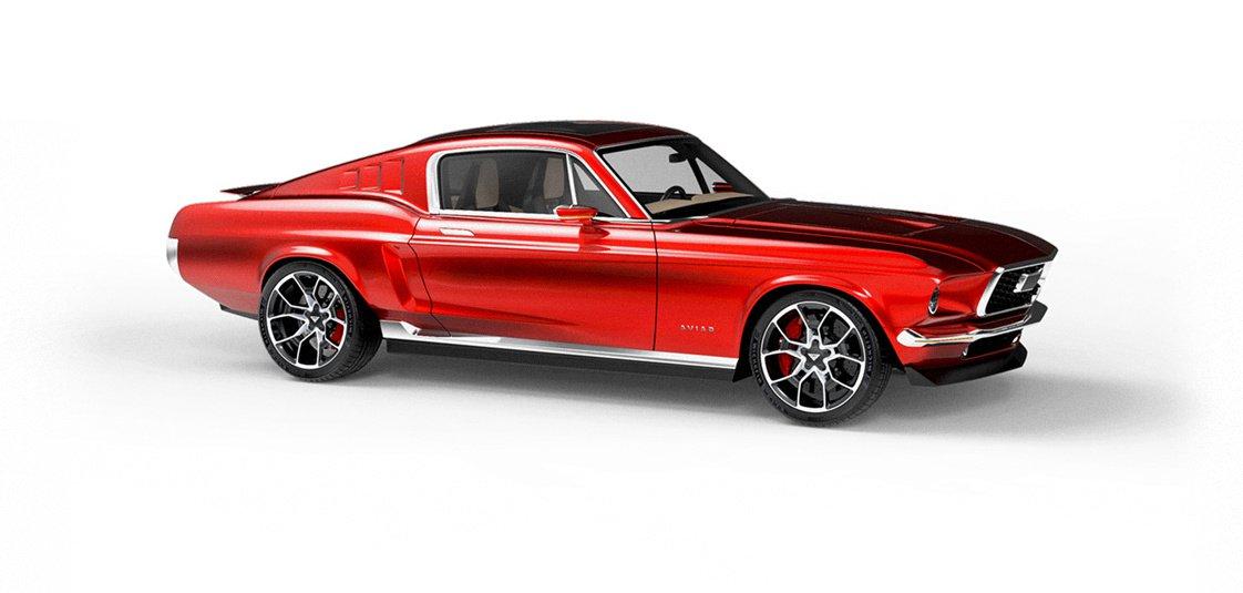 Aviar Motors Electric Mustang (3)