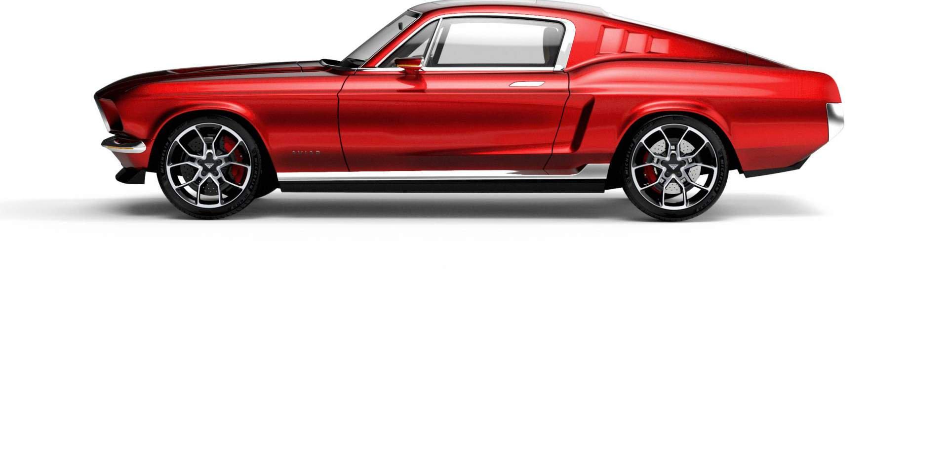 Aviar Motors Electric Mustang (4)