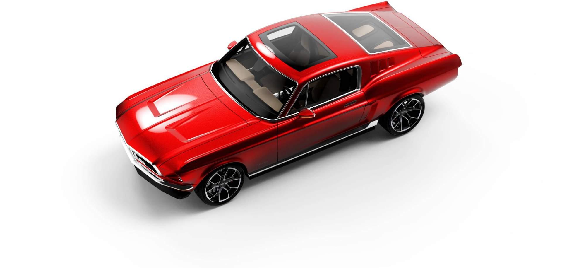 Aviar Motors Electric Mustang (5)