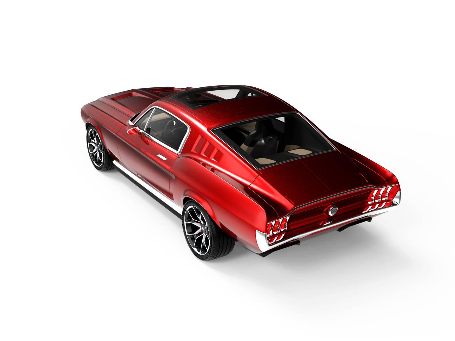 Aviar Motors Electric Mustang (7)