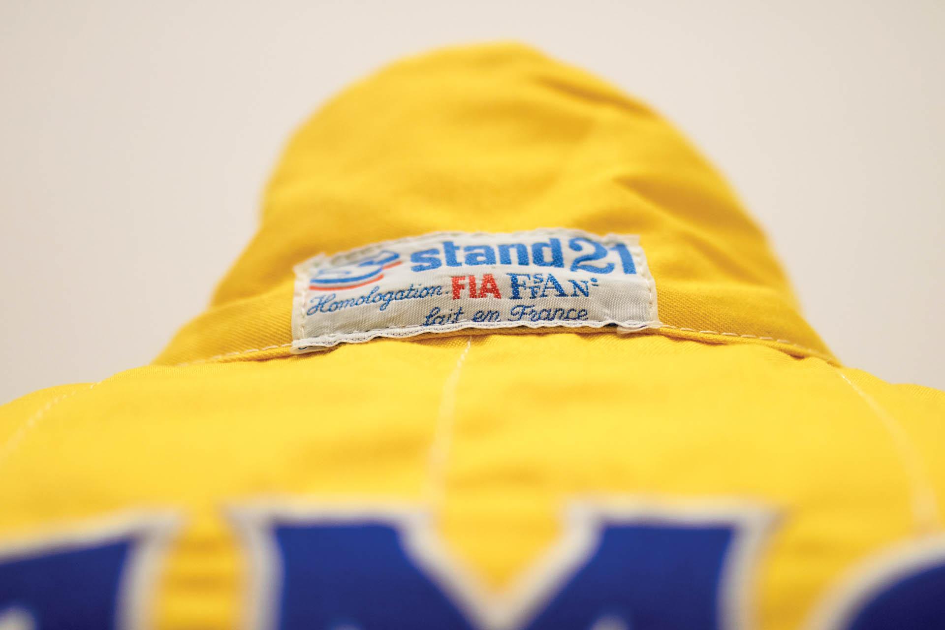 Ayrton SennaSuitMonaco GP 1987 (5)