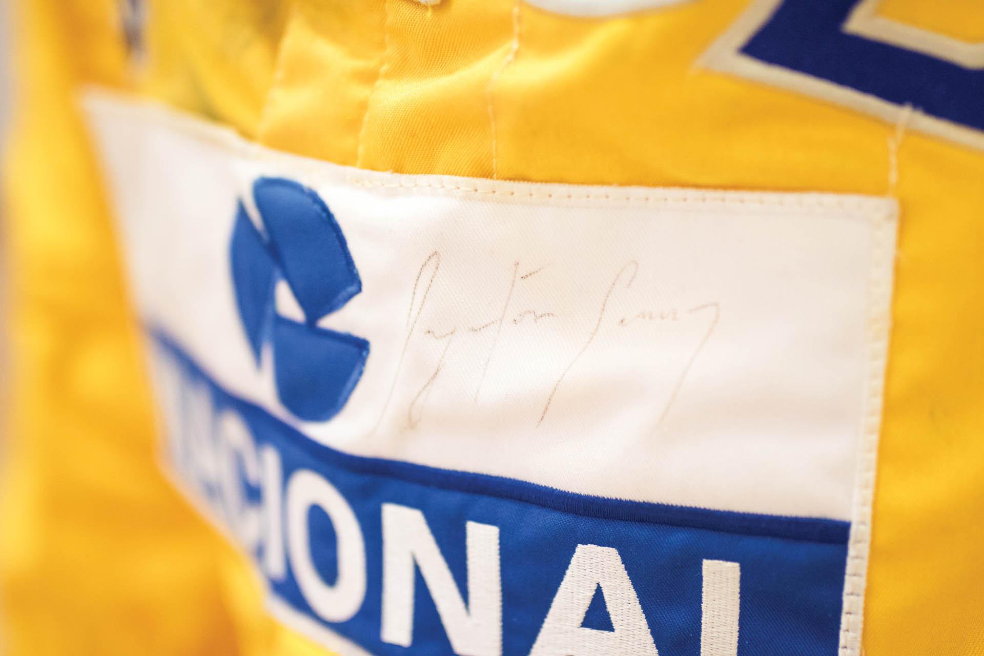 Ayrton SennaSuitMonaco GP 1987 (8)