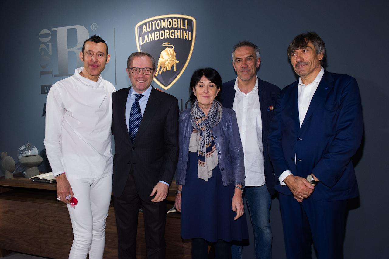 Karim Rashid;Stefano Domenicali;Anna Riva;Davide Riva;Maurizio Riva