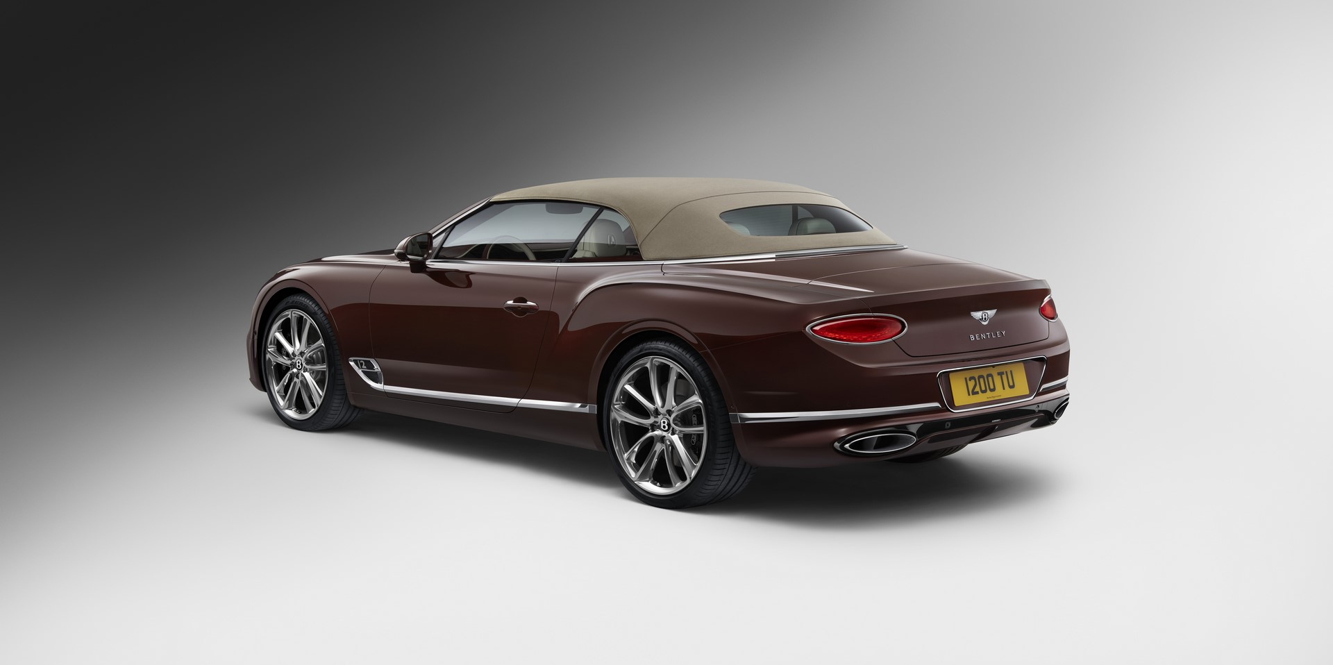 Bentley Continental GT Convertible 46(tweed hood)