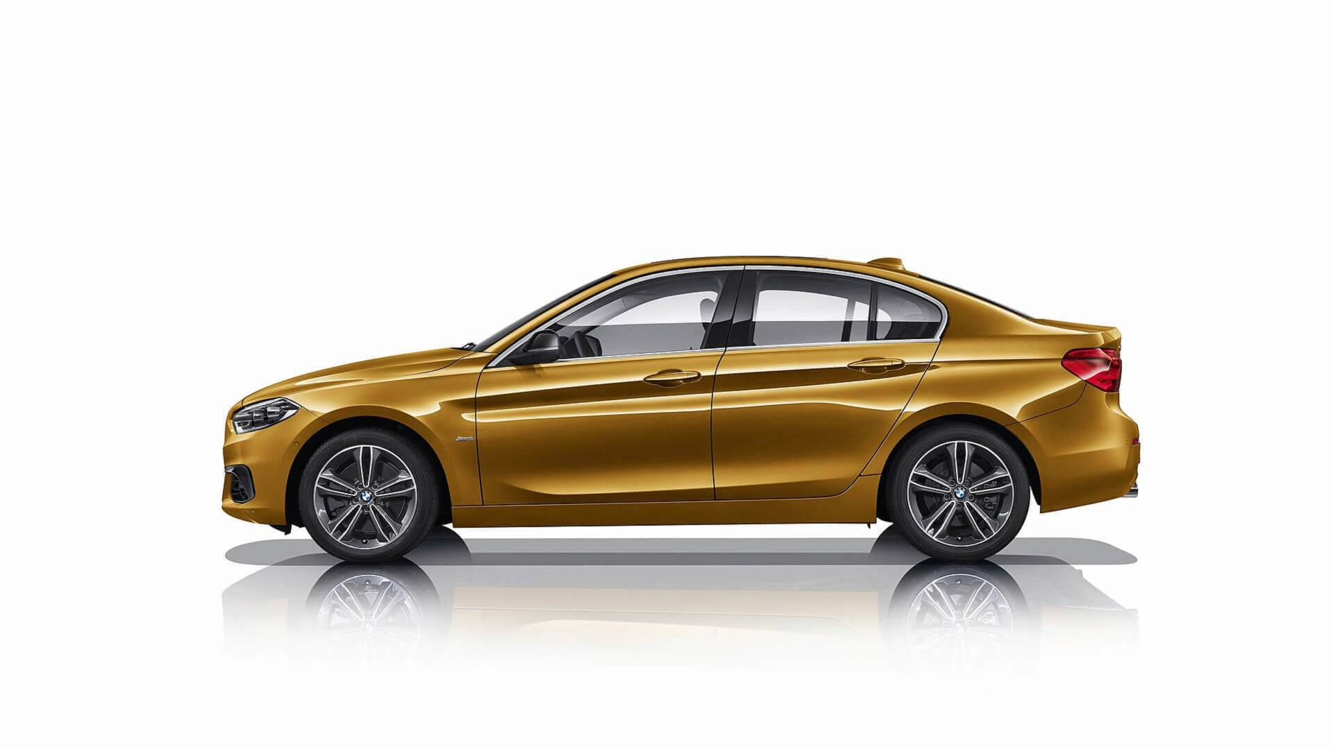 BMW 1 Series Sedan 2018 for Mexican market (8)