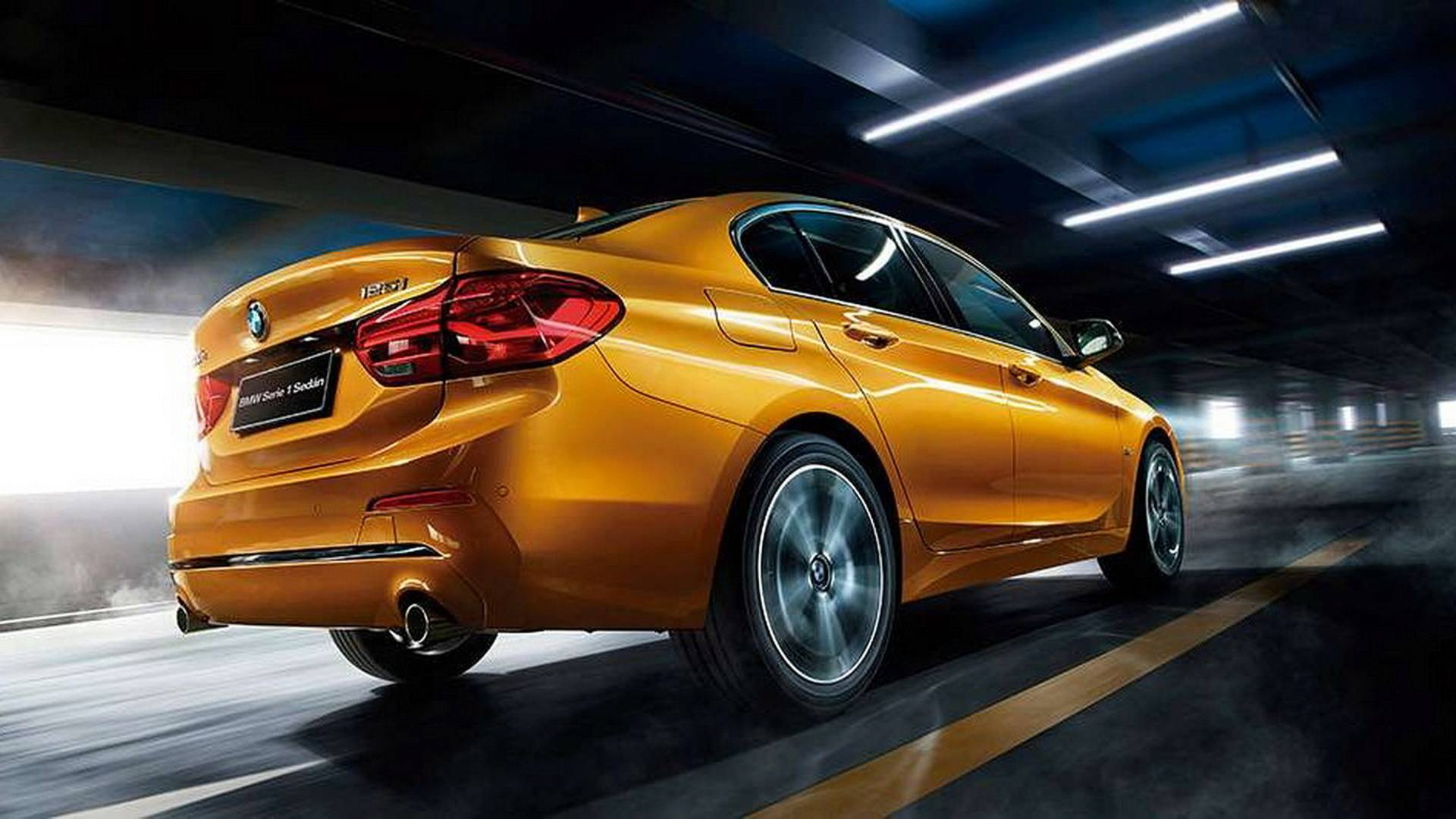 BMW 1 Series Sedan 2018 for Mexican market (9)