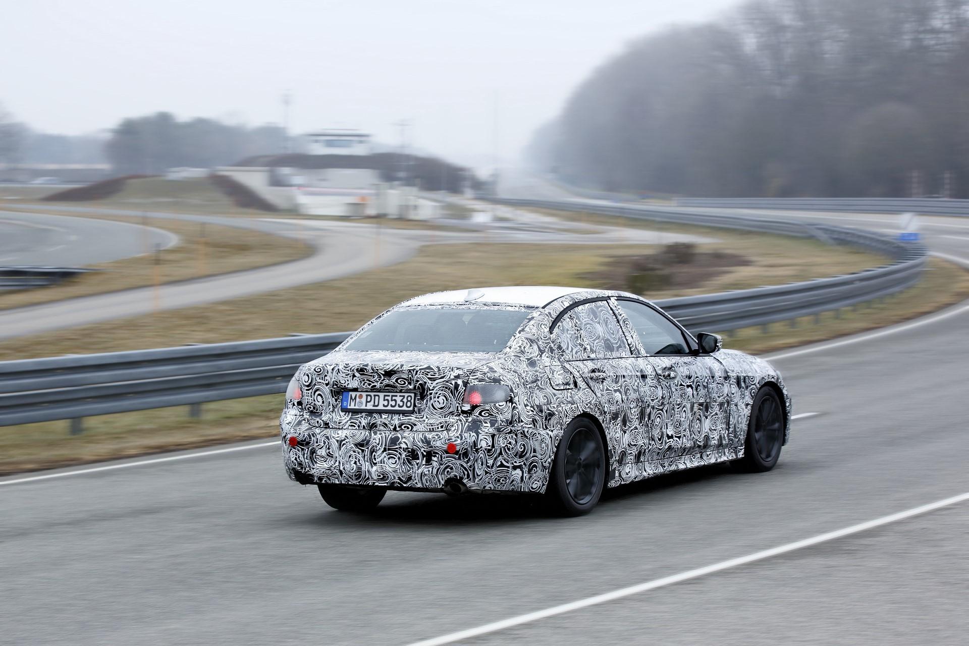 BMW 3-Series 2019 Final Testing (2)