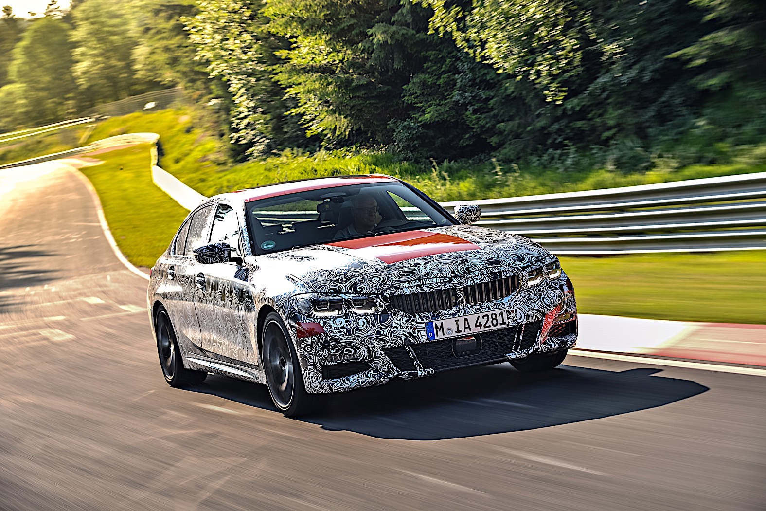 BMW 3-Series 2019 official spy photos 1