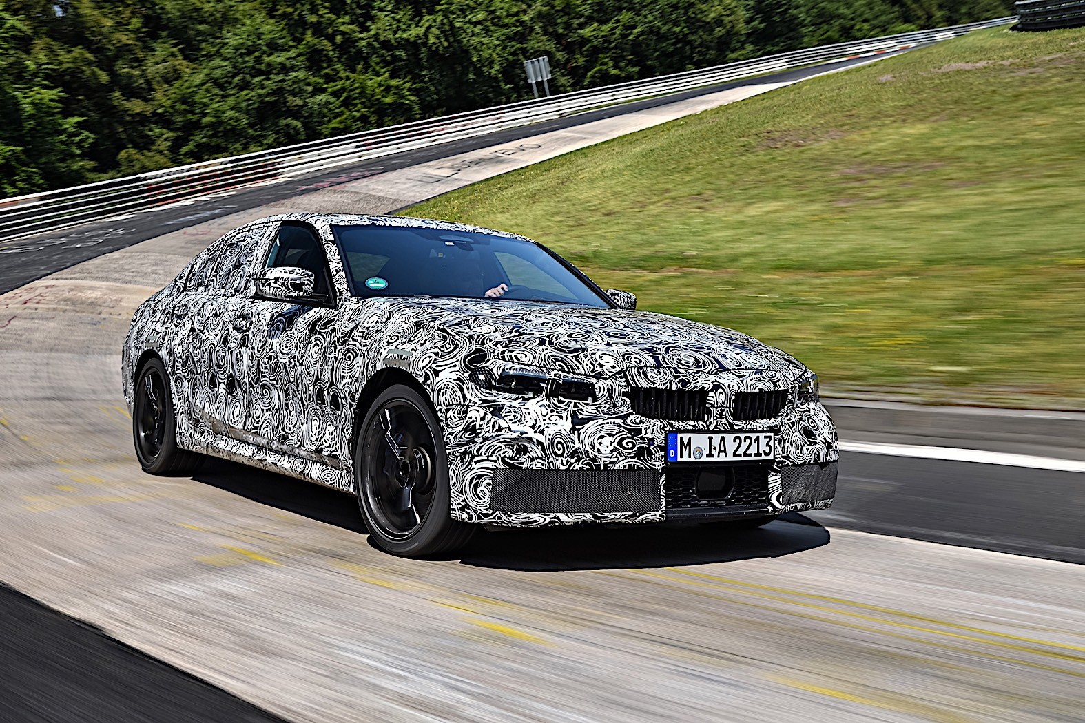 BMW 3-Series 2019 official spy photos 10