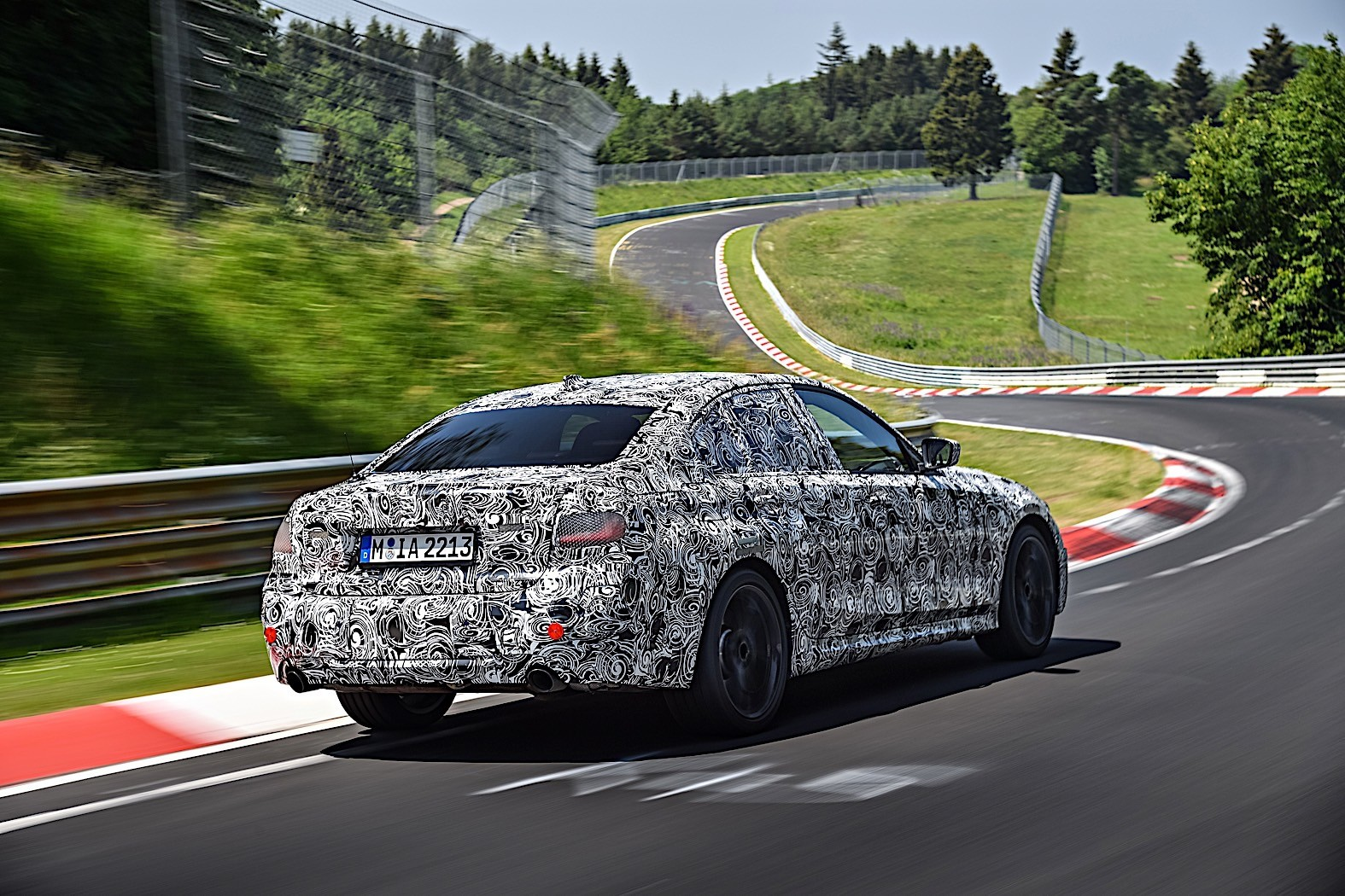 BMW 3-Series 2019 official spy photos 11