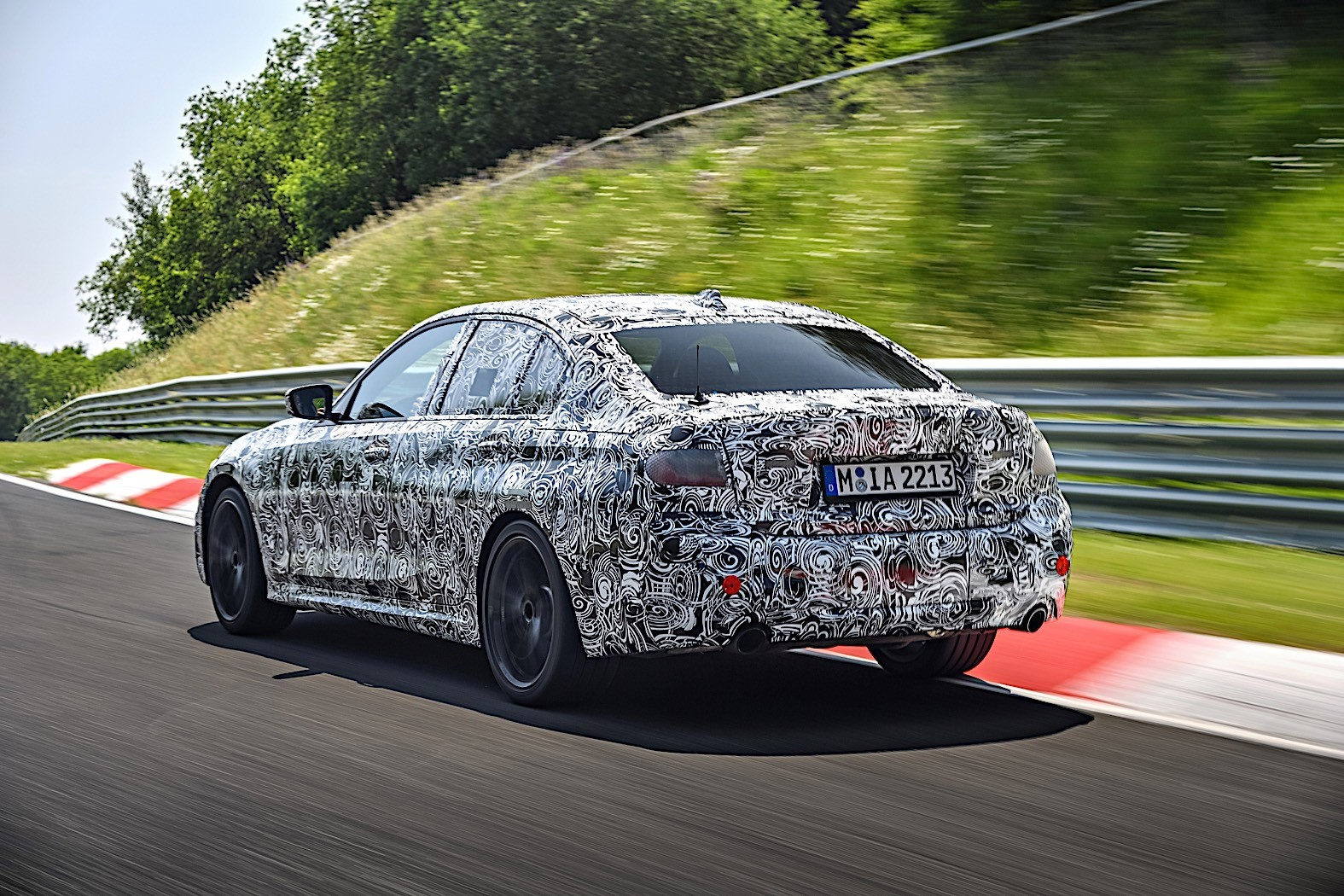 BMW 3-Series 2019 official spy photos 12