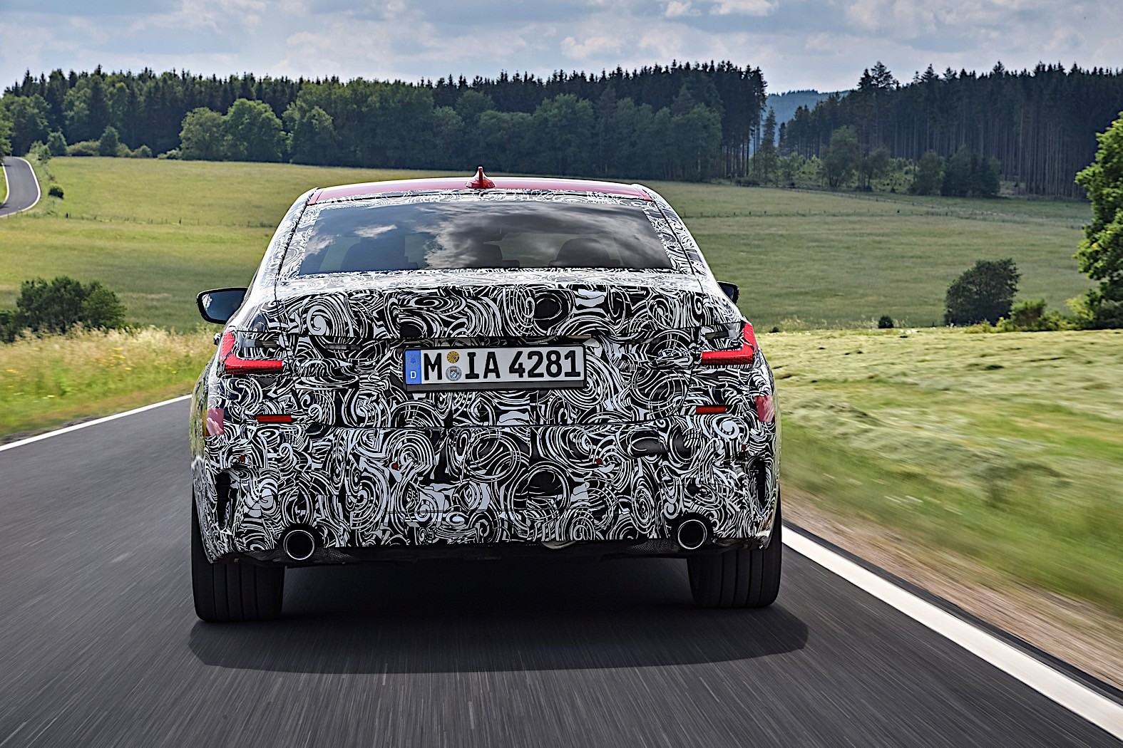 BMW 3-Series 2019 official spy photos 19