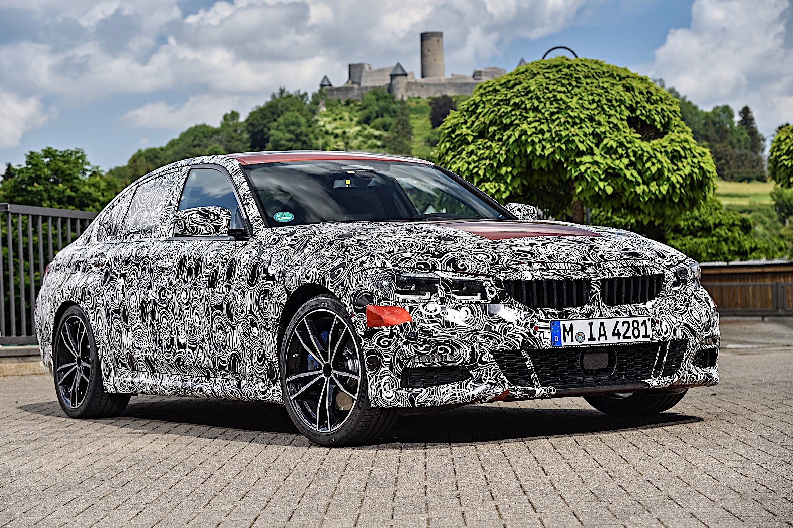 BMW 3-Series 2019 official spy photos 20