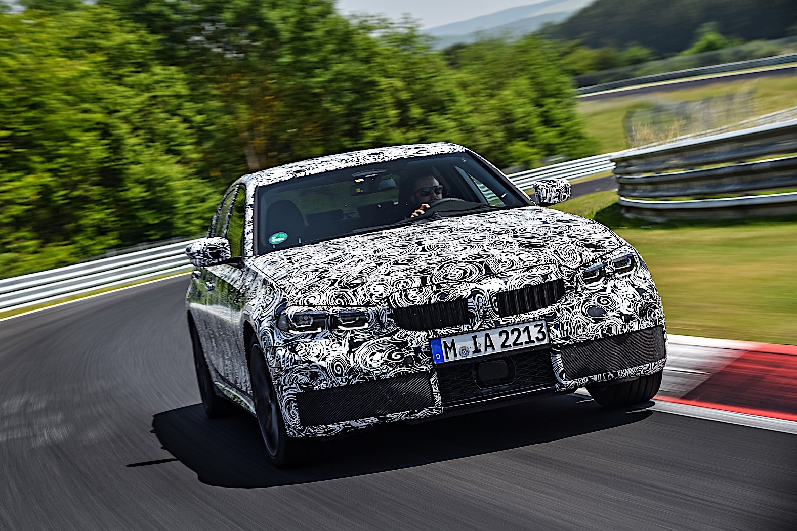 BMW 3-Series 2019 official spy photos 22
