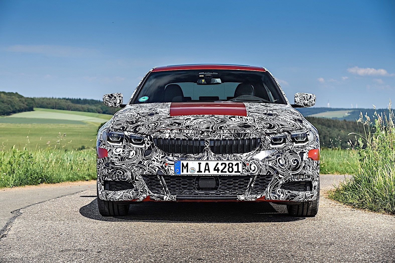 BMW 3-Series 2019 official spy photos 24
