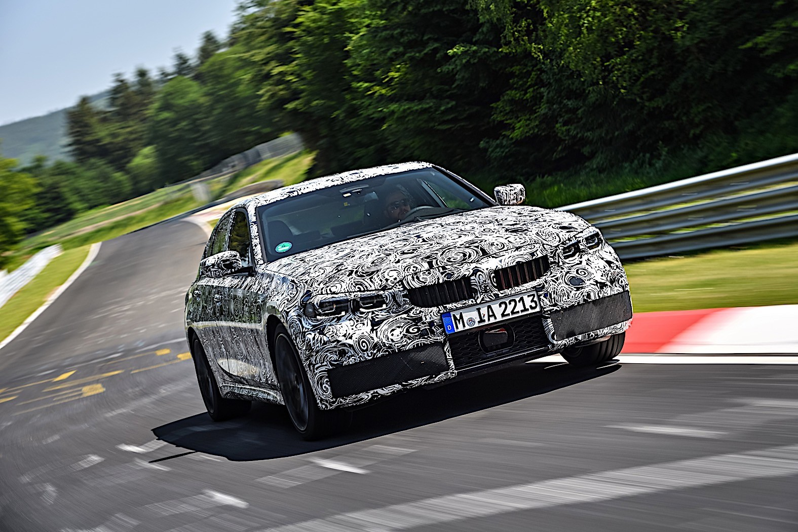 BMW 3-Series 2019 official spy photos 26