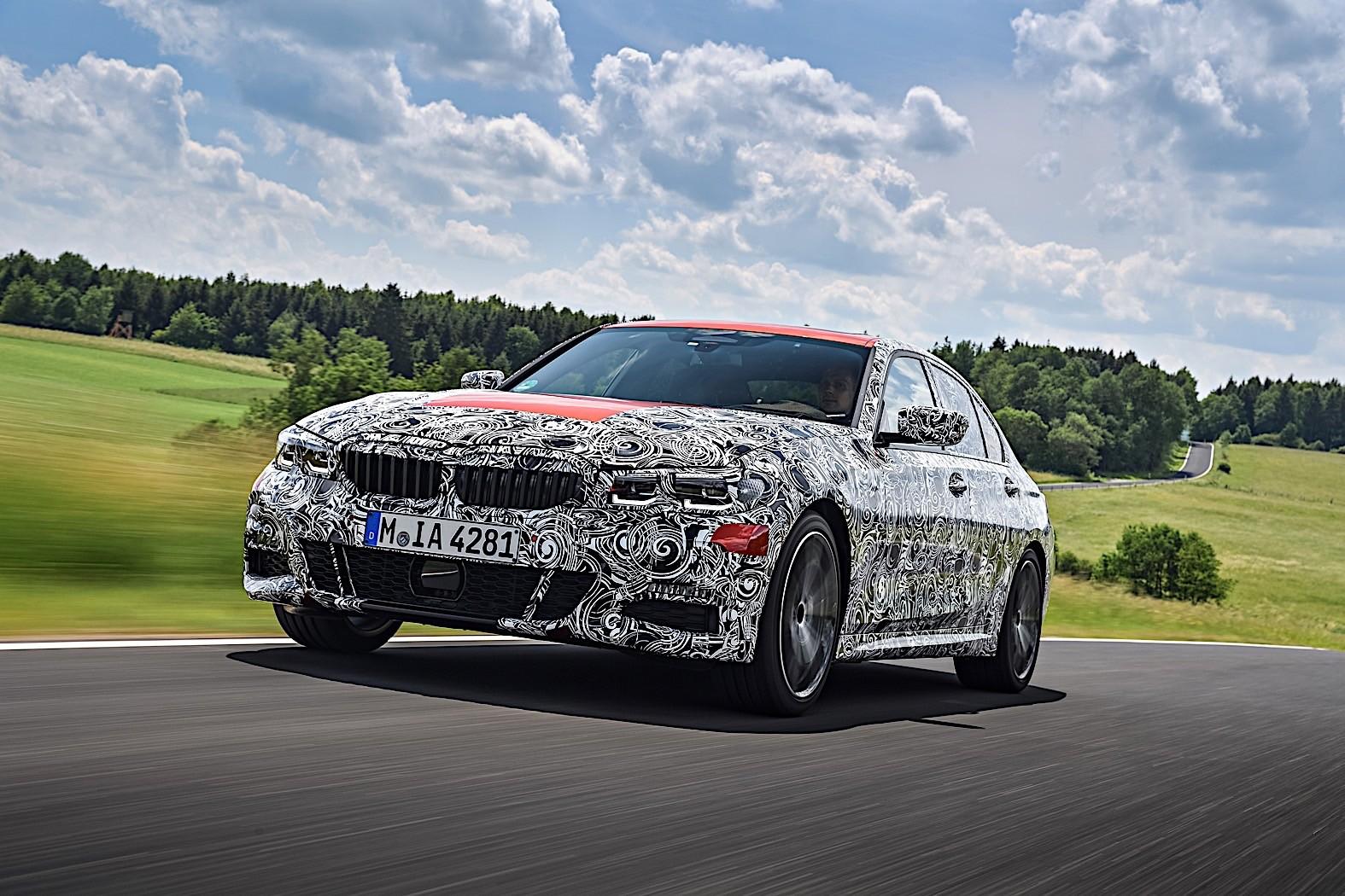 BMW 3-Series 2019 official spy photos 27
