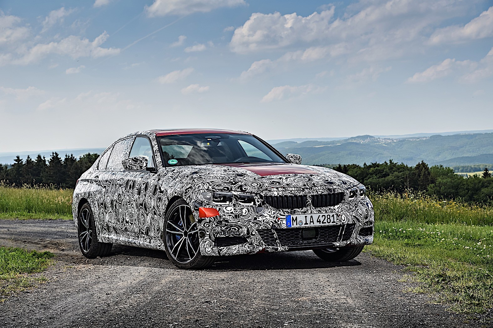 BMW 3-Series 2019 official spy photos 28
