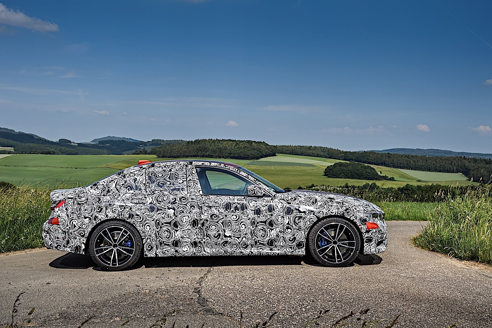 BMW 3-Series 2019 official spy photos 29