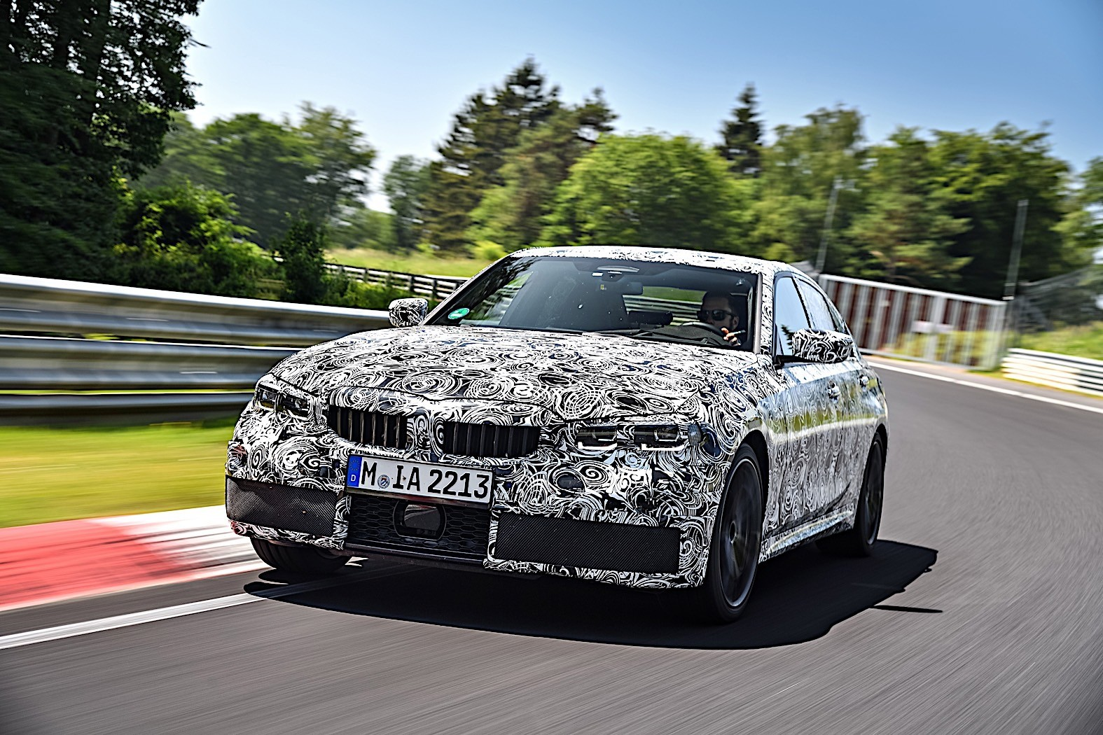 BMW 3-Series 2019 official spy photos 31