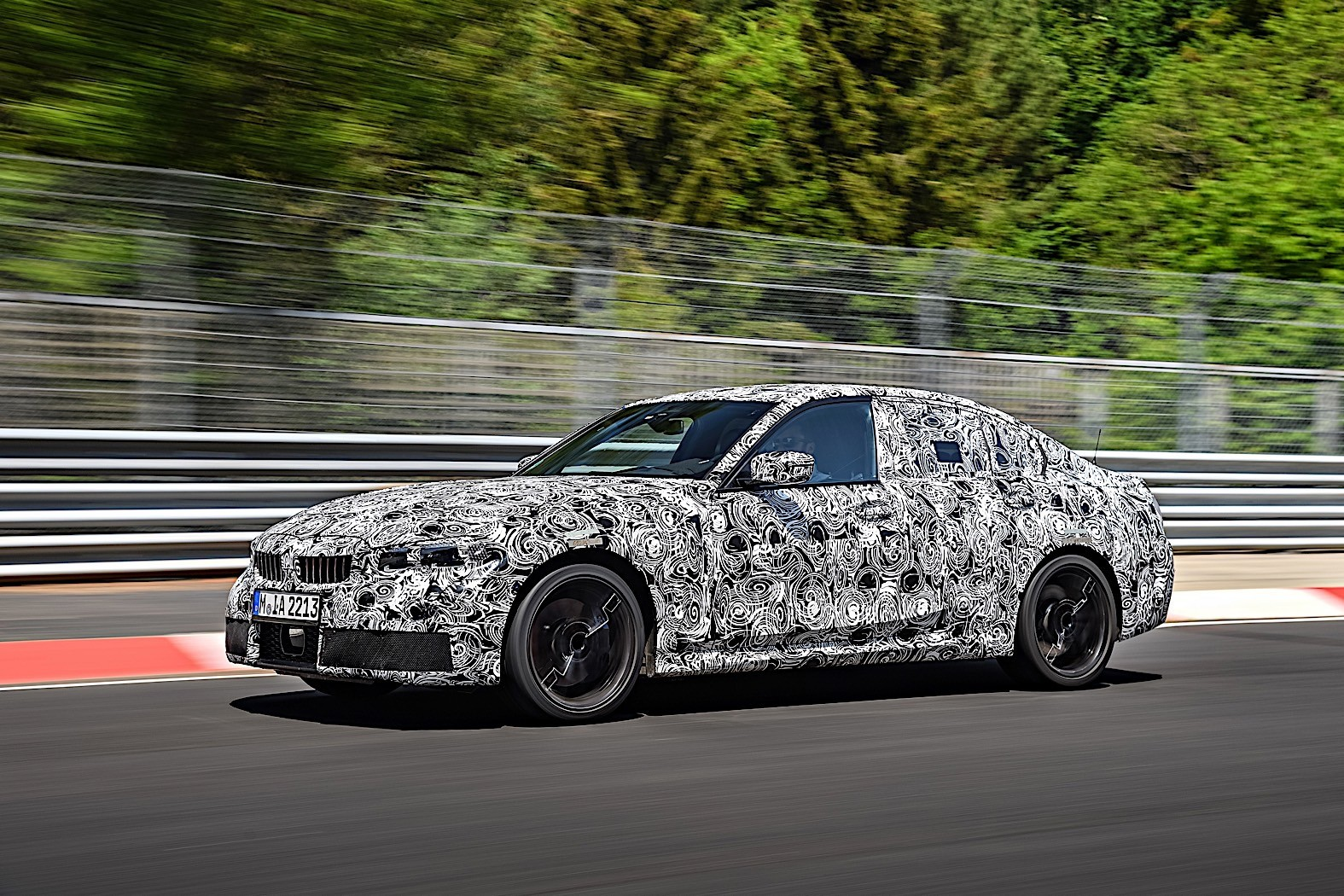 BMW 3-Series 2019 official spy photos 35