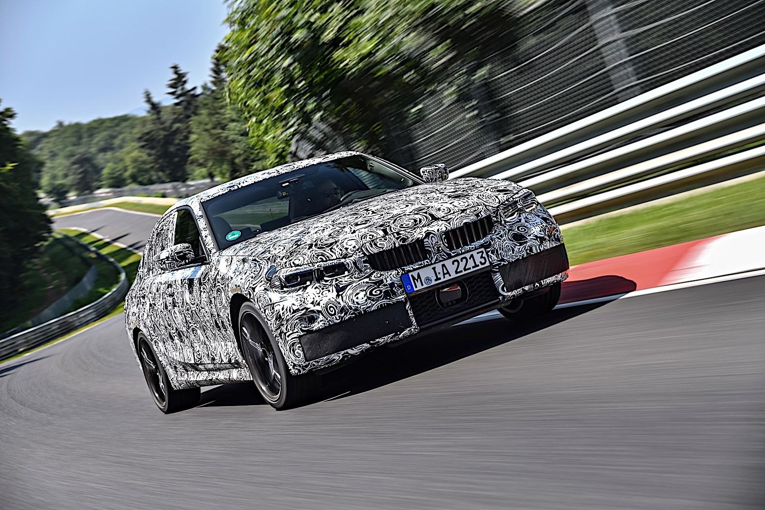 BMW 3-Series 2019 official spy photos 6