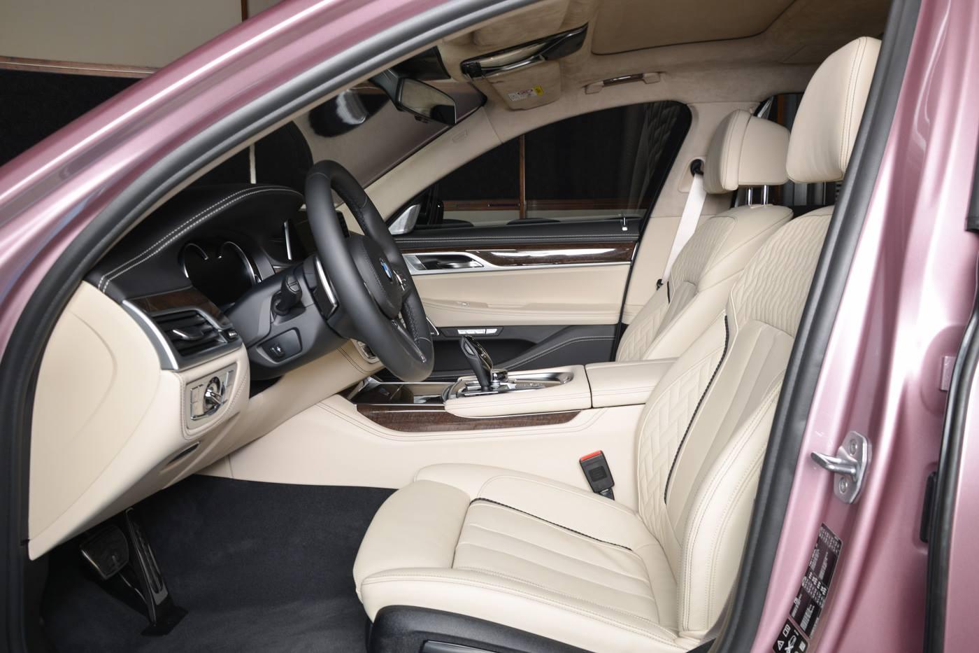 BMW750Li xDrive Individual M Sport Package in Rose Quartz (6)