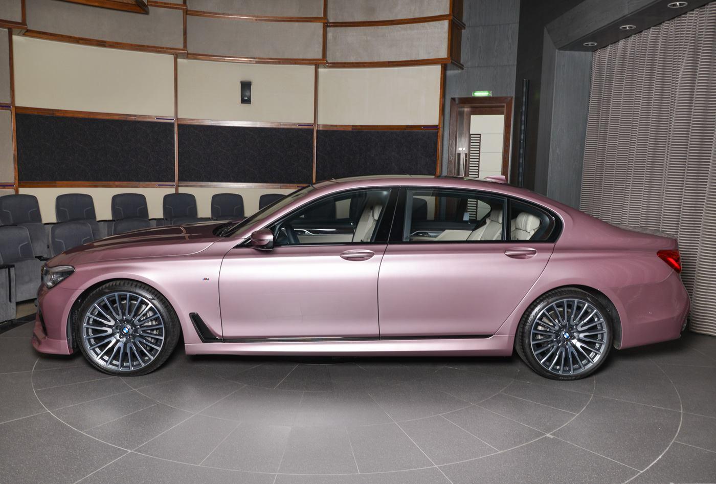 BMW750Li xDrive Individual M Sport Package in Rose Quartz (8)